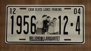 "Billboard  "" Cash Elvis, Lewis, Perkins """