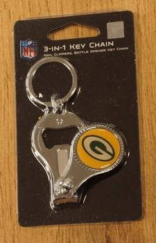 "American Football sleutelhanger "" Green Bay Packers """