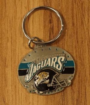 """American Football sleutelhanger """" Jacksonville Jaguars """""""