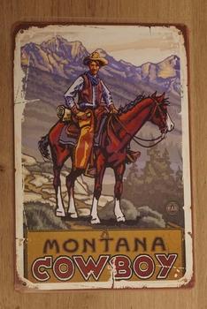 "Billboard  "" Montana cwboy """