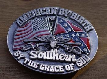 """Buckle """" Als Amerikaan geboren, Zuiderling door Godsgenade """""""