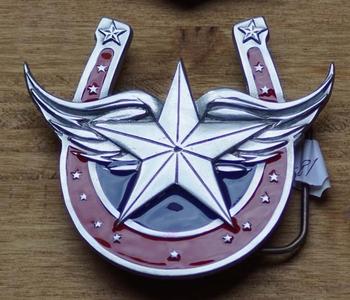 "Belt buckle / Riem gesp  "" Gelukshoefijzer """