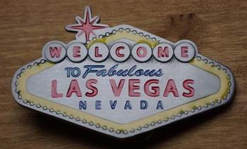 """Belt buckle  """" Welkom in sprookjesland Las Vegas"""
