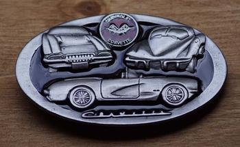 """Verzamel buckle  """" Chevrolet corvette """""""