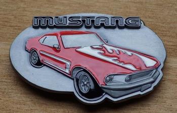 """Verzamel buckle  """" Mustang """""""