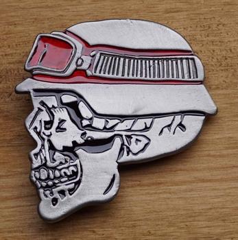"""Belt buckle   """" Motorrijder skelet """""""