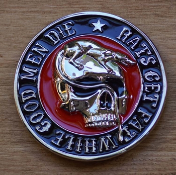 "Belt buckle  "" Rats get fat while good men die """