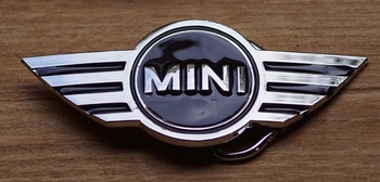 "Automerk  gesp  ""  Mini ""   UITVERKOCHT"