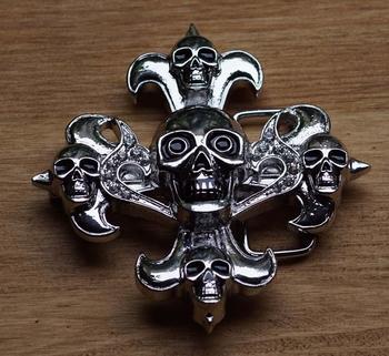 """Belt buckle  """" Kruis skulls """""""