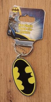 """Sleutelhanger  """" Batman """"   geel / zwart"""