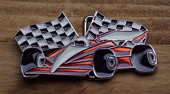 "Buckle / gesp  "" Racing car """