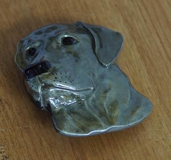 """Buckle / gesp  """" Labrador """""""