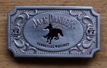 "Buckle  "" Jack Daniels Tennessee wiskey "" Cowboy"