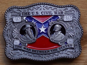 "Buckle  "" The U.S. civil war 1861 - 1865 """