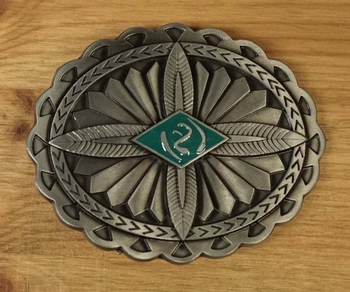 "Buckle ""  Aztec design """