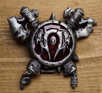 "Gesp buckle  "" World of warcraft gaming horde """