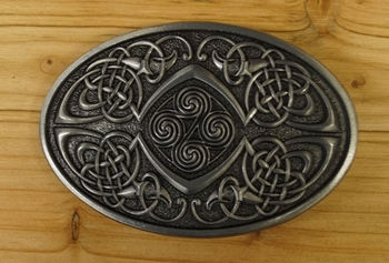 "Buckle / gesp  "" 4 knots, Celtic Bird ""    UITVERKOCHT"