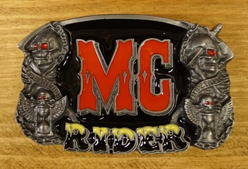 "Buckle / gesp  "" MC Rider """