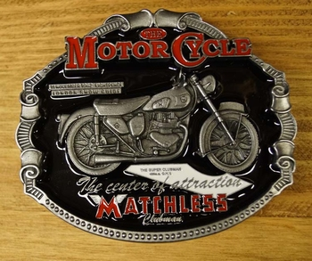 """Motor cylce buckle  """" Matchless """""""
