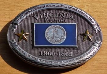 "Buckle / gesp  "" Virginia """