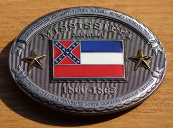 """Buckle / gesp  """" Mississippi """""""
