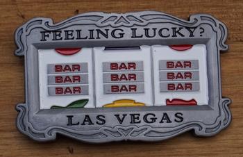 "Buckle "" Feeling Lucky ?  Las Vegas ""    Gokkast"