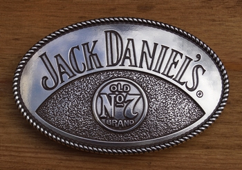 "Buckle  "" Jack Daniels Old no 7 brand """