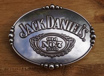 "Belt buckle  "" Jack Daniels Old no 7 brand """