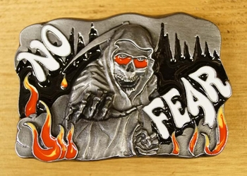 "Buckle / gesp  "" No fear """
