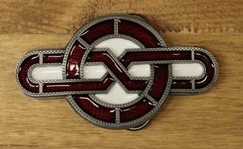 """Buckle / gesp  """" Keltische symbool """""""