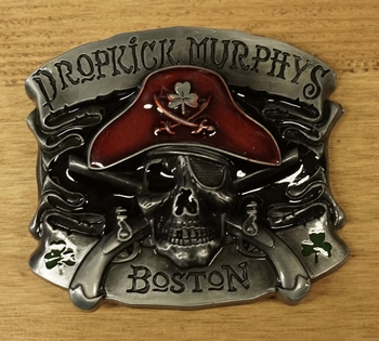"Gesp / buckle  "" Dropkick Murphys Boston """