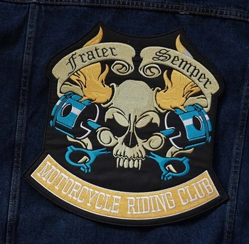 "Applicatie   "" Frater semper motorcycle riding club """