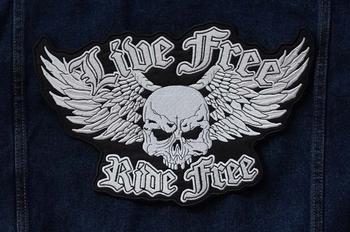 "Applicatie   "" Live free, ride free """
