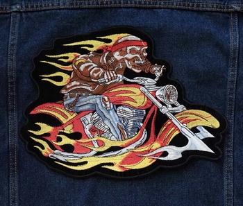 """Applicatie   """" Biker in vlammen """""""