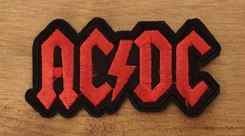 "Applicatie  "" ACDC ""  rood"