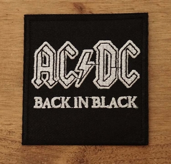 "Applicatie  "" ACDC  back in black """