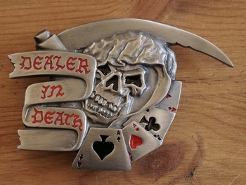 "Buckle "" Dealer in death """