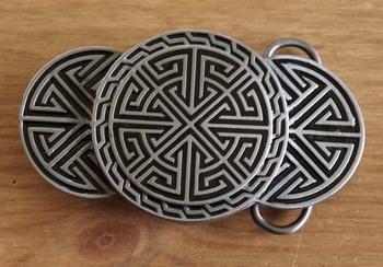"""Buckle  """" Celtic design """""""