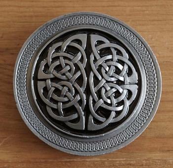 """Buckle  """" 2 Celtic knots """""""