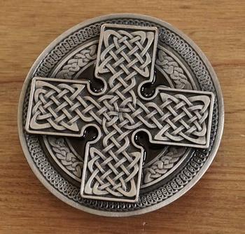 "Buckle  ""Celtic cross """