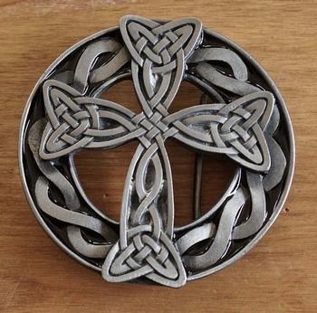 """Gesp """" Keltische kruis """""""
