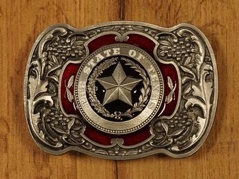 """Buckle """" The state of Texas """"   zwart / goud  UITVERKOCHT"""