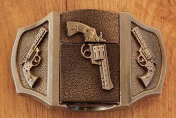 """Aansteker buckle """"  Revolvers """""""