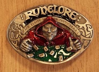 """Belt buckle  """" Waarzegger / Runelore """""""
