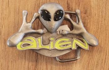 """Science fiction buckle  """" Alien """""""
