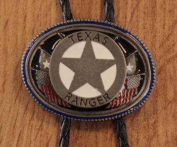 """Bolo tie  """" Texas Ranger """""""