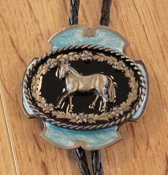 """Bolo tie  """" Paard """""""