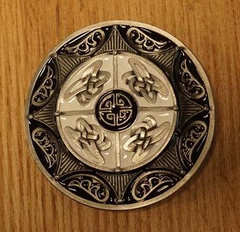 """Buckle """" 4 keltische knopen """""""