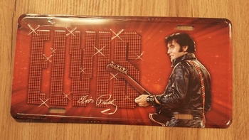 "Billboard / nummerrplaat "" Elvis Presley ""  Elvis met gitaar"