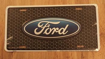 """Billboard / nummerrplaat """" Ford """""""